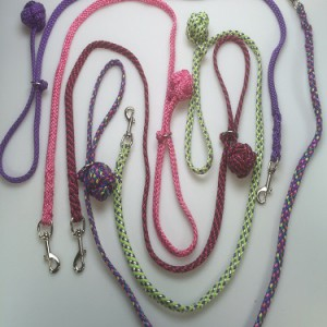 Handgemaakte riemen